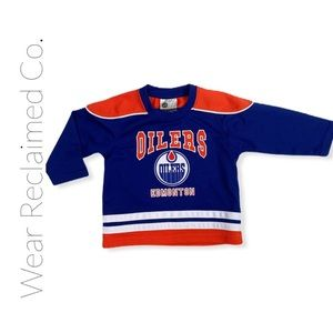 NHL OILERS JERSEY - Size: 24 Month